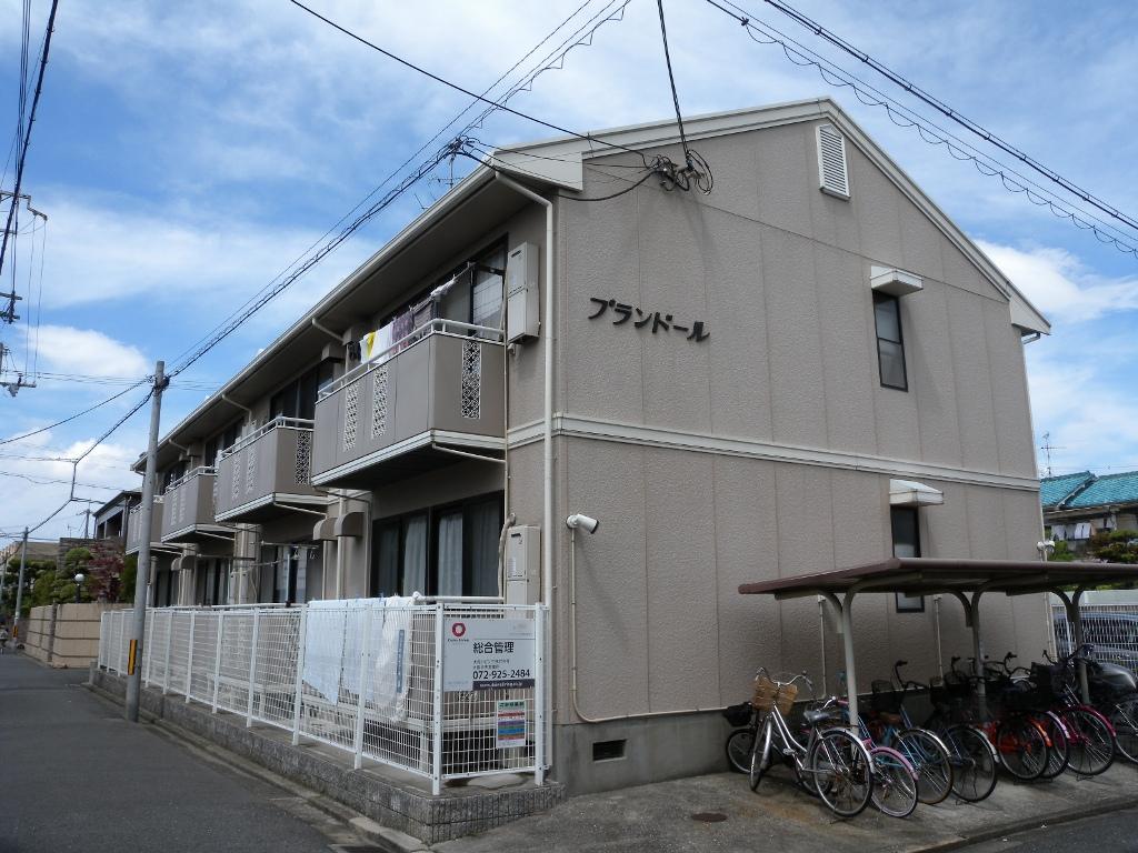 大阪府八尾市、河内山本駅徒歩13分の築26年 2階建の賃貸アパート