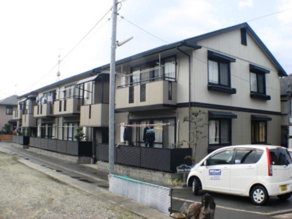 大阪府八尾市、高安駅徒歩25分の築19年 2階建の賃貸アパート