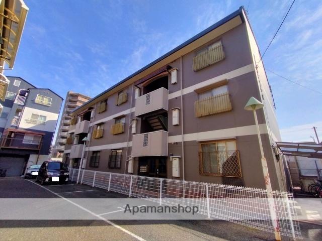 大阪府八尾市、八尾駅徒歩11分の築27年 3階建の賃貸マンション