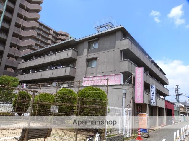 大阪府八尾市、久宝寺口駅徒歩13分の築37年 4階建の賃貸マンション
