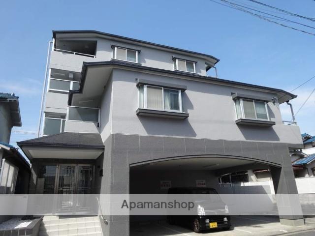 大阪府八尾市、近鉄八尾駅徒歩15分の築28年 4階建の賃貸マンション