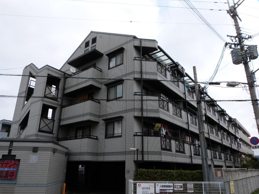 大阪府八尾市、志紀駅徒歩35分の築20年 4階建の賃貸マンション