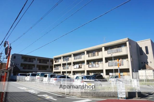 大阪府八尾市、八尾駅徒歩10分の築22年 3階建の賃貸マンション