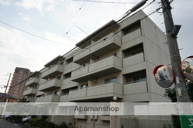 大阪府八尾市、河内山本駅徒歩12分の築28年 4階建の賃貸マンション