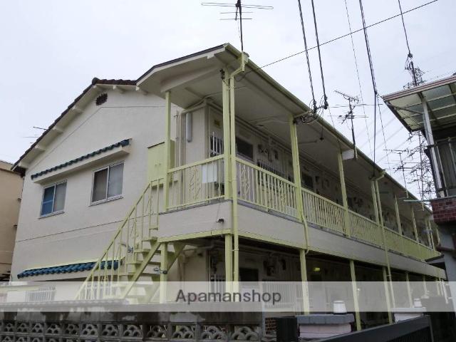 大阪府八尾市、近鉄八尾駅徒歩26分の築35年 2階建の賃貸アパート