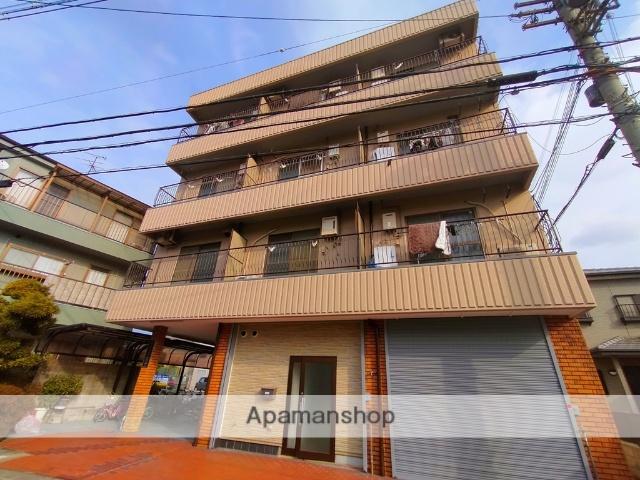大阪府八尾市、八尾駅徒歩20分の築27年 4階建の賃貸マンション