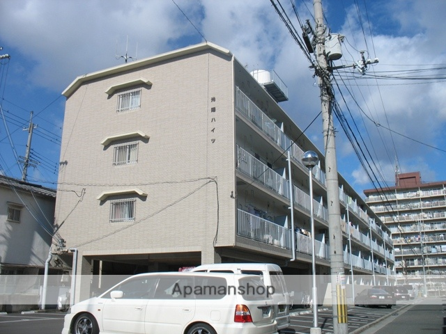 大阪府八尾市、近鉄八尾駅徒歩34分の築35年 4階建の賃貸マンション