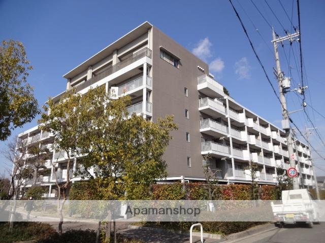 大阪府八尾市、近鉄八尾駅徒歩27分の築16年 6階建の賃貸マンション