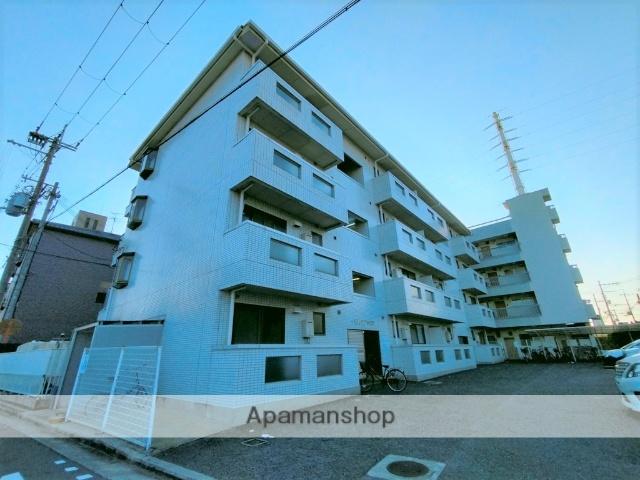 大阪府八尾市、高安駅徒歩6分の築26年 4階建の賃貸マンション
