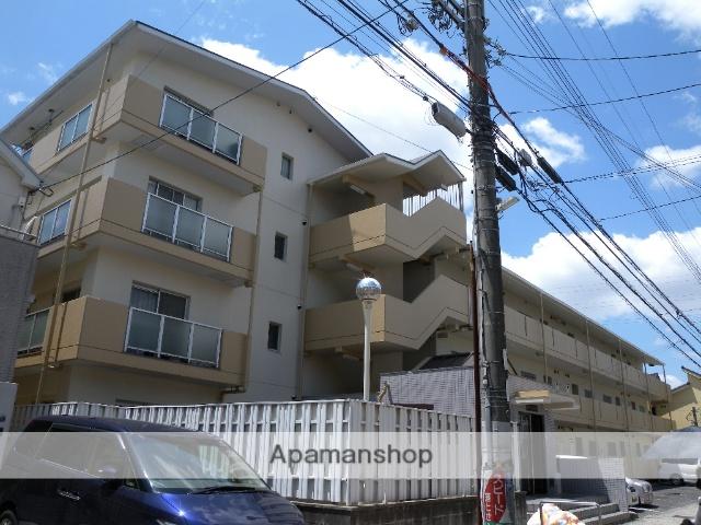 大阪府八尾市、河内山本駅徒歩15分の築26年 3階建の賃貸マンション