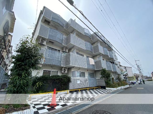 大阪府東大阪市、住道駅徒歩37分の築22年 4階建の賃貸マンション