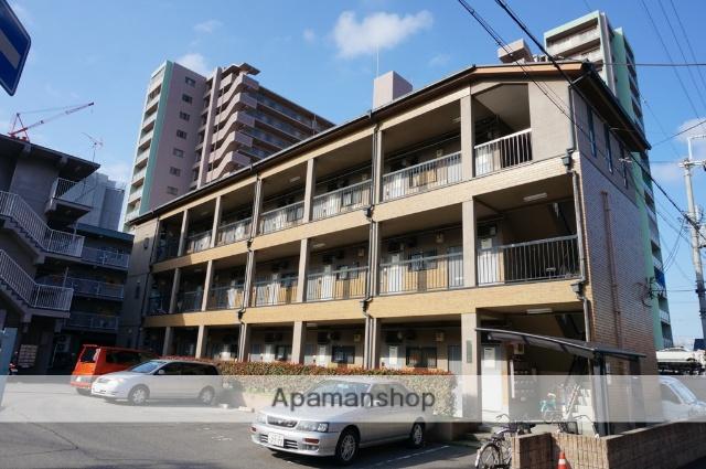 大阪府八尾市、久宝寺口駅徒歩13分の築33年 3階建の賃貸マンション