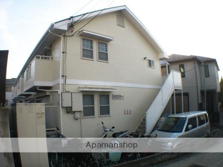大阪府八尾市、高安駅徒歩23分の築17年 2階建の賃貸アパート