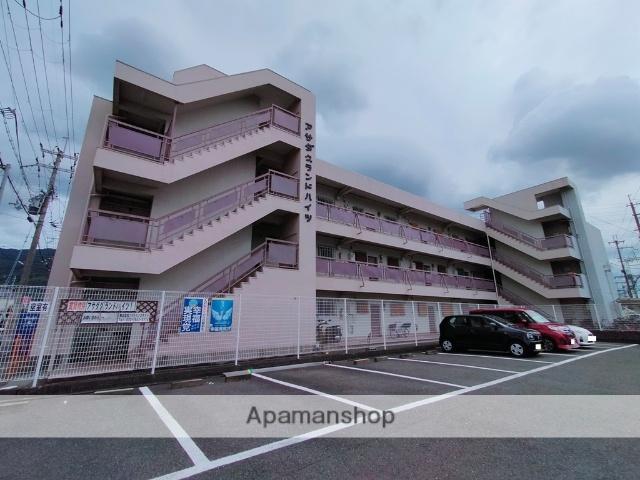 大阪府八尾市、河内山本駅徒歩25分の築39年 3階建の賃貸マンション