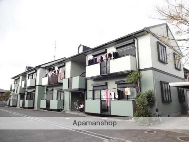 大阪府八尾市、志紀駅徒歩24分の築21年 2階建の賃貸アパート