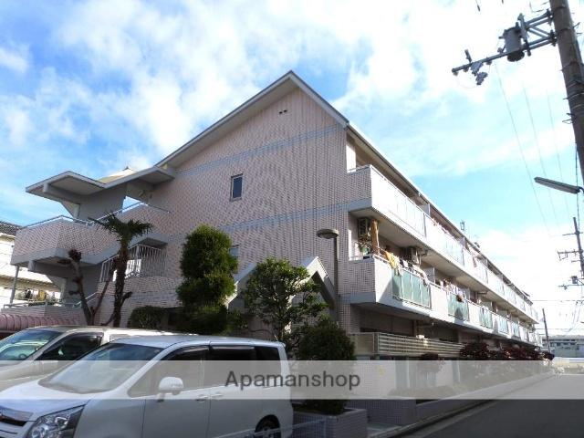 大阪府八尾市、志紀駅徒歩26分の築23年 3階建の賃貸マンション