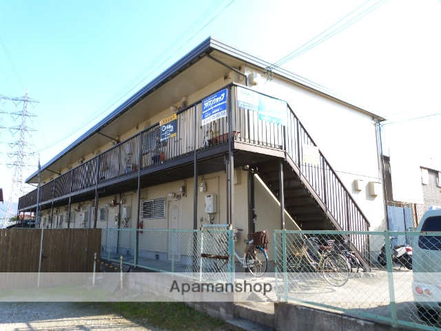 大阪府八尾市、八尾駅徒歩16分の築30年 2階建の賃貸アパート