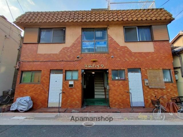 大阪府八尾市、弥刀駅徒歩18分の築34年 2階建の賃貸アパート