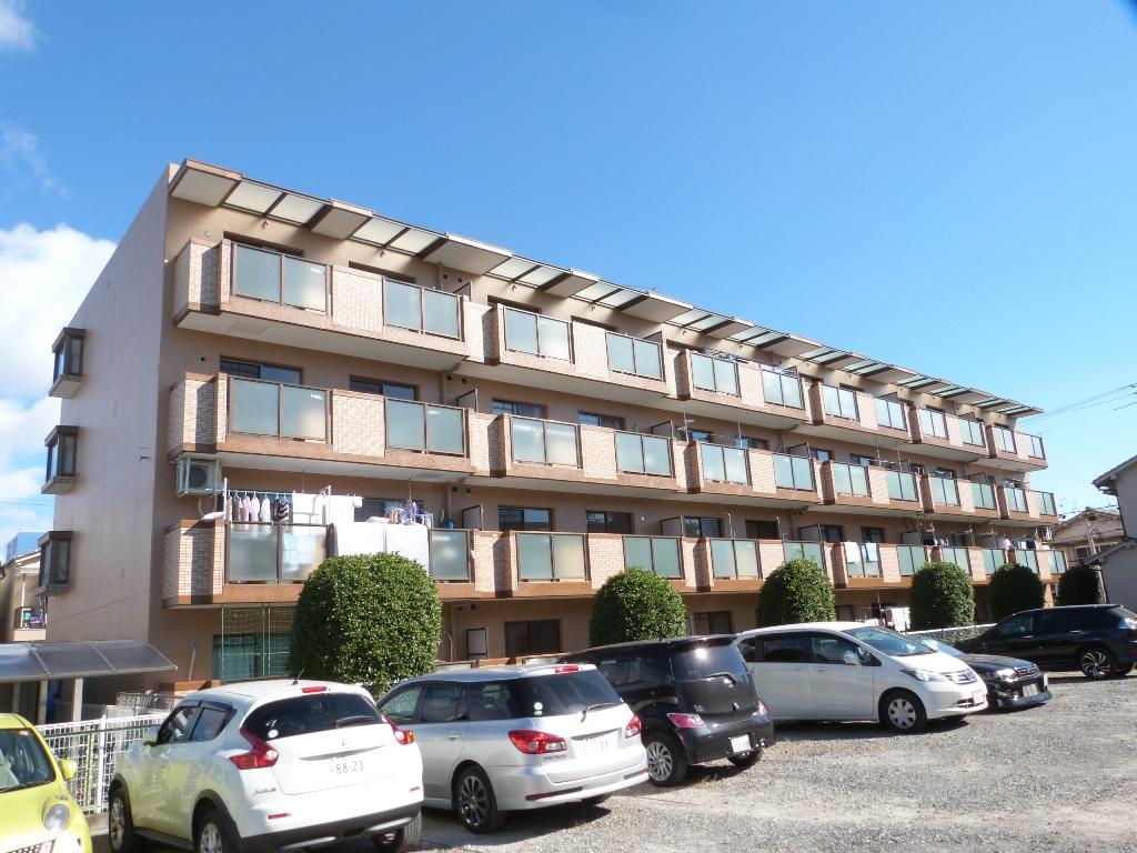 大阪府八尾市、八尾駅徒歩21分の築29年 4階建の賃貸マンション