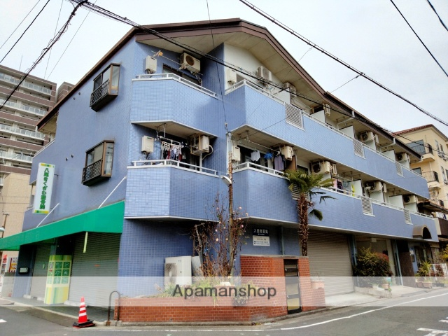 大阪府八尾市、久宝寺口駅徒歩16分の築23年 3階建の賃貸マンション