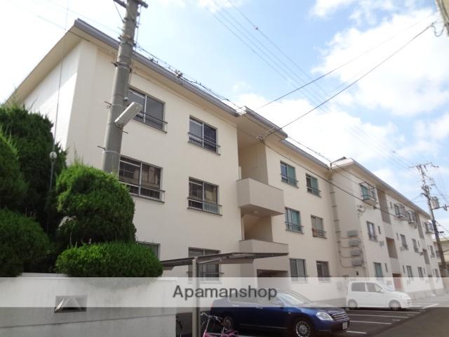 大阪府八尾市、久宝寺口駅徒歩28分の築42年 3階建の賃貸マンション