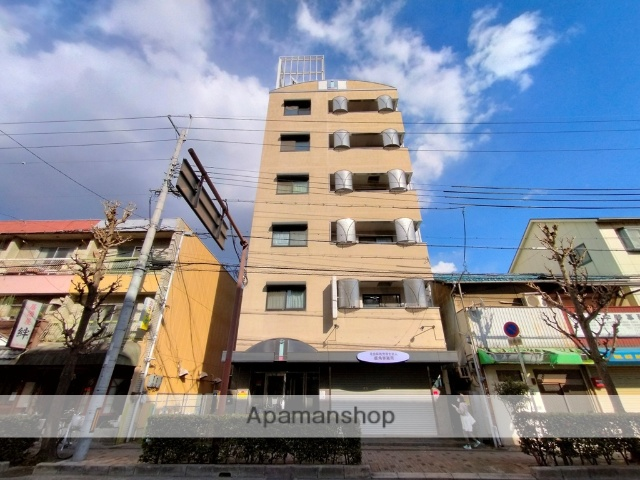大阪府八尾市、八尾駅徒歩7分の築24年 6階建の賃貸マンション