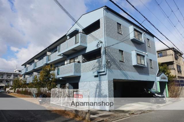 大阪府八尾市、河内山本駅徒歩21分の築21年 3階建の賃貸マンション