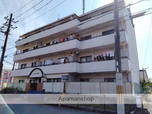 大阪府八尾市、志紀駅徒歩14分の築28年 4階建の賃貸マンション
