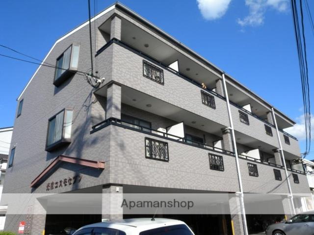 大阪府八尾市、八尾駅徒歩11分の築17年 3階建の賃貸マンション