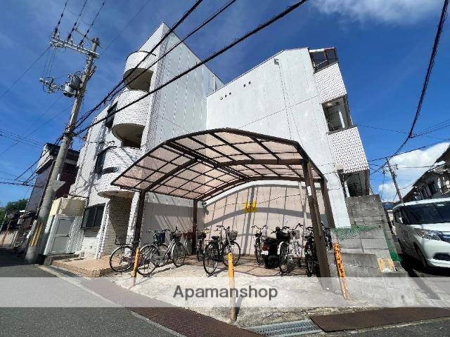 大阪府東大阪市、河内花園駅徒歩9分の築27年 3階建の賃貸マンション