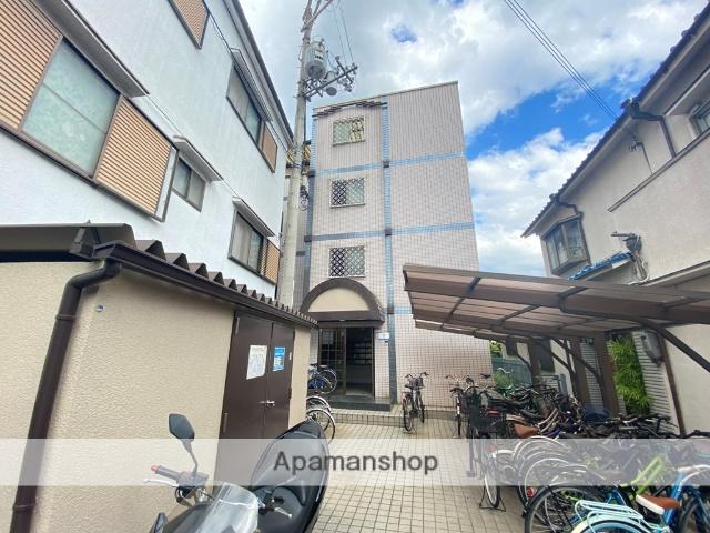 大阪府東大阪市、八戸ノ里駅徒歩22分の築26年 4階建の賃貸マンション