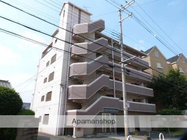 大阪府八尾市、近鉄八尾駅徒歩22分の築20年 5階建の賃貸マンション