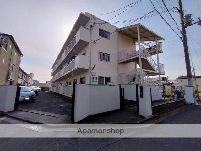大阪府八尾市、近鉄八尾駅徒歩13分の築36年 3階建の賃貸マンション