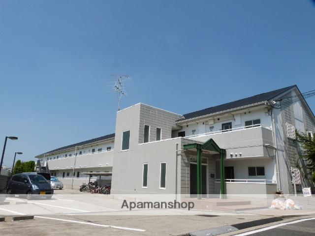 大阪府八尾市、近鉄八尾駅徒歩22分の築24年 2階建の賃貸マンション