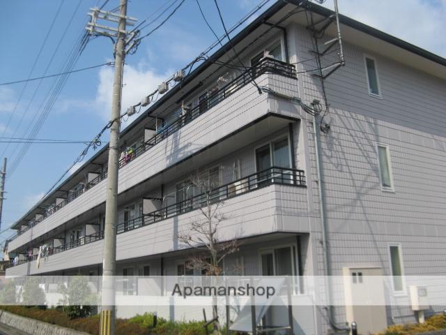 大阪府八尾市、高安駅徒歩9分の築22年 3階建の賃貸マンション