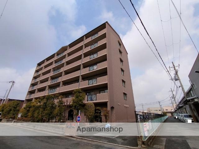 大阪府八尾市、弥刀駅徒歩24分の築19年 7階建の賃貸マンション