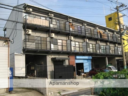 大阪府八尾市、近鉄八尾駅徒歩33分の築20年 3階建の賃貸マンション