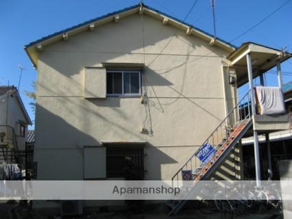 大阪府八尾市、久宝寺駅徒歩15分の築47年 2階建の賃貸アパート