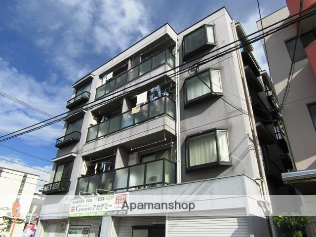 大阪府東大阪市、額田駅徒歩25分の築24年 3階建の賃貸マンション