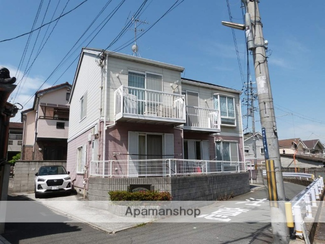 大阪府東大阪市、住道駅徒歩26分の築21年 2階建の賃貸アパート