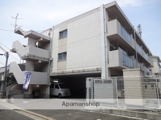 大阪府東大阪市、JR長瀬駅徒歩16分の築17年 3階建の賃貸マンション