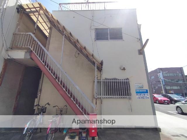 大阪府東大阪市、JR河内永和駅徒歩11分の築34年 2階建の賃貸アパート