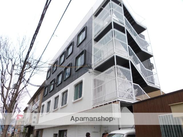 大阪府八尾市、八尾駅徒歩28分の築40年 4階建の賃貸マンション