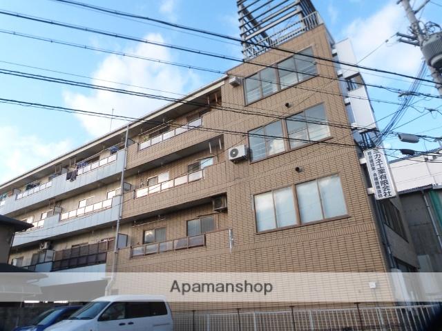 大阪府柏原市、柏原駅徒歩19分の築26年 4階建の賃貸マンション