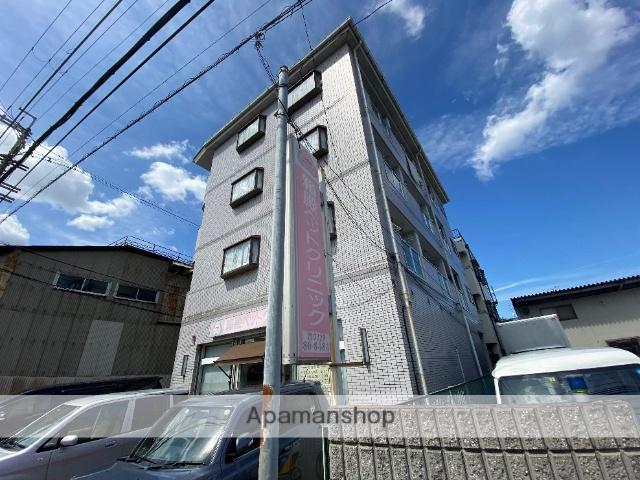 大阪府東大阪市、瓢箪山駅徒歩15分の築26年 4階建の賃貸マンション