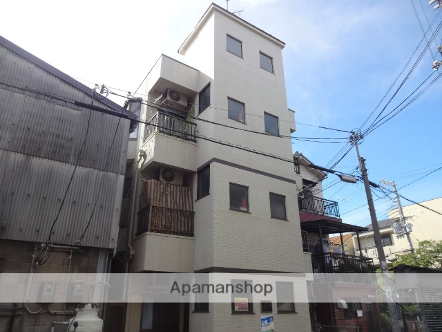 大阪府東大阪市、JR俊徳道駅徒歩10分の築30年 3階建の賃貸マンション