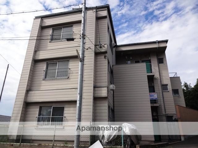 大阪府東大阪市、枚岡駅徒歩6分の築40年 3階建の賃貸マンション