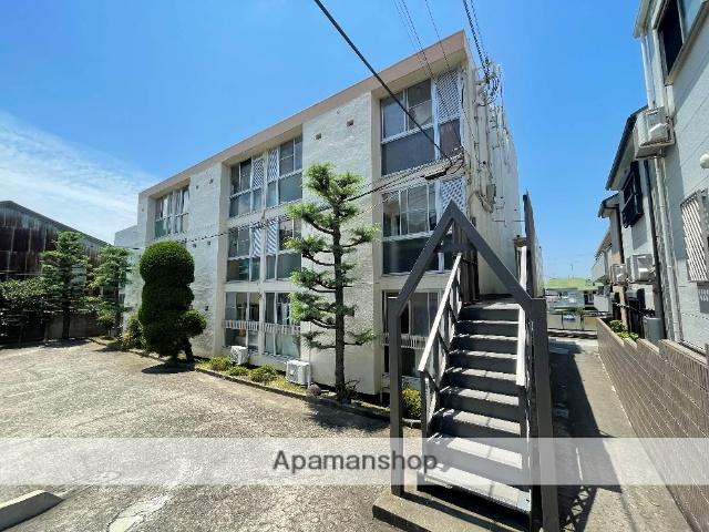 大阪府東大阪市、枚岡駅徒歩13分の築41年 3階建の賃貸マンション