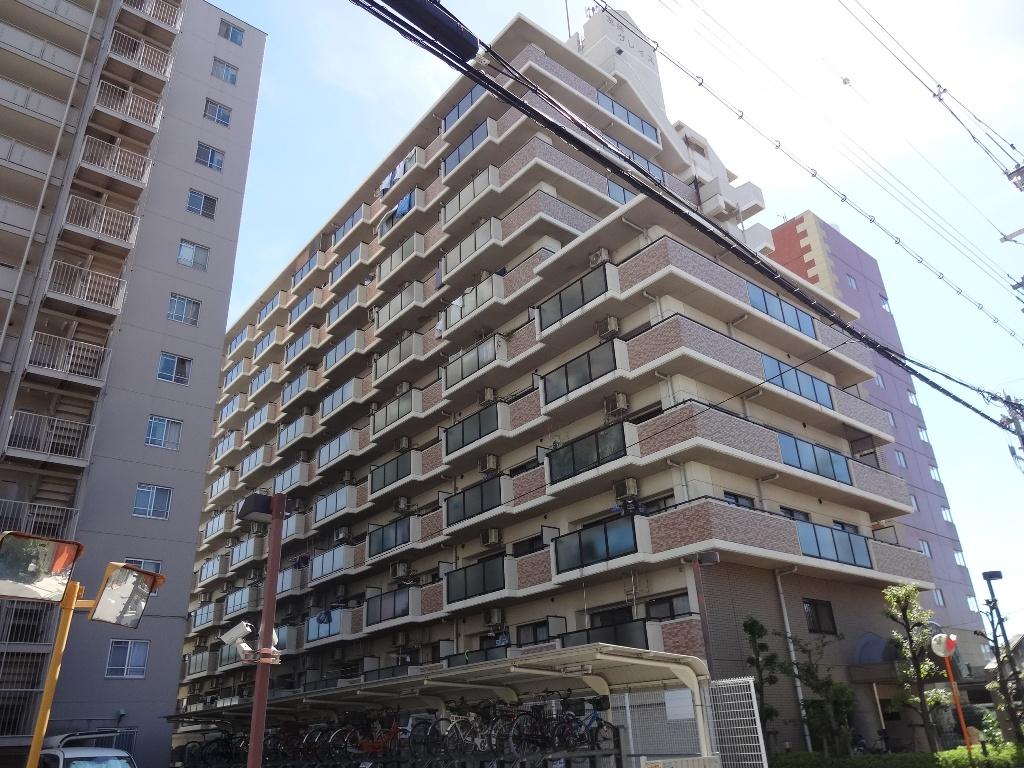 大阪府東大阪市、弥刀駅徒歩12分の築22年 11階建の賃貸マンション