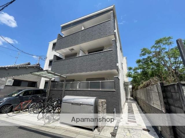 大阪府東大阪市、東花園駅徒歩20分の新築 3階建の賃貸アパート
